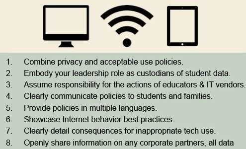 Protecting Student Data Policy – 10 Steps for Schools
