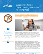 Case Study: Supporting Effective Digital Learning — Wherever It's Taking Place